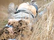 【野战门事件】两学生情侣荒草掩护席地野战 妹子很清纯