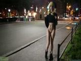 欧美网红LanaRain COS装户外裸露 各种场合露穴