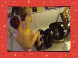 洗头发洗到鸡儿梆硬 强干洗头妹