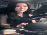 高颜值韩国妹纸【河莹】激情啪啪车震 开车到偏僻地方玩