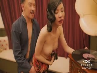 星空传媒-『上海滩』一代枭雄不要江山要美人 旗袍女神无双